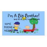 I'm A Big Brother Calling Card Business Card