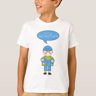i'm a big brother (twin brothers) tshirt