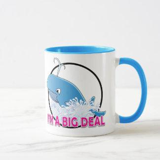 I'm A Big Deal - Black 11 oz Ringer Mug Mug