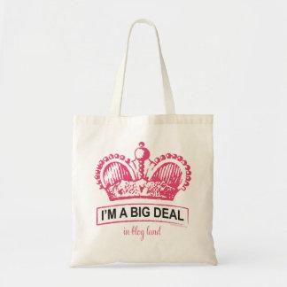 I'm a Big Deal in Blogland Budget Tote Bag