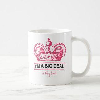 I'm a Big Deal in Blogland Classic White Coffee Mug