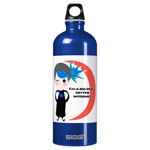 I'm a Big Deal on the Internet - Blue Spectrum SIGG Traveler 1.0L Water Bottle