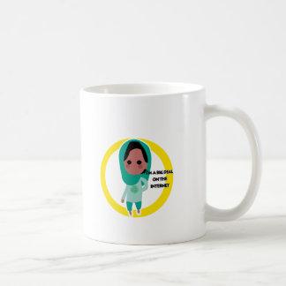 I'm a Big Deal on the Internet - Green Spectrum Coffee Mug