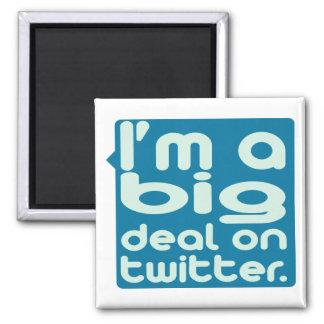 I'm a Big Deal on Twitter Refrigerator Magnets