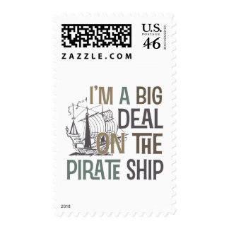 Im A Big Deal Pirate Ship Tees Gifts Stamps