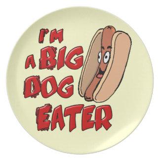 I'm a Big Dog Eater Plate