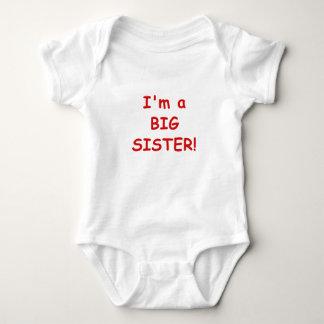 I'm a Big SIster Baby Bodysuit