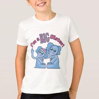 I'm a Big Sister Elephants T-Shirt
