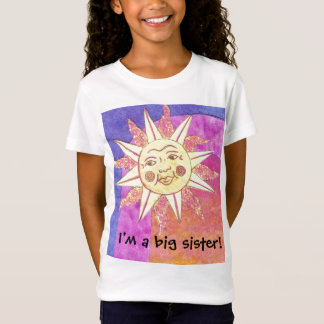 I'm a big sister now SUN Baby Doll T-Shirt