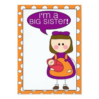 i'm a big sister (sister) announcement