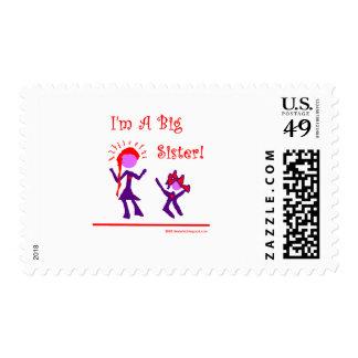 I'm A Big Sister! Stamp
