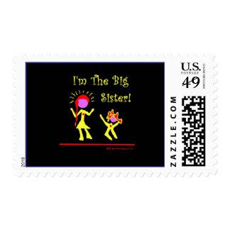 I'm A Big Sister! Stamps