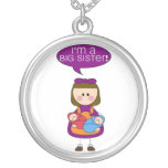 i'm a big sister (twin brother and sister) necklace