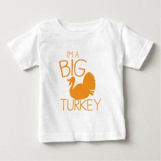 I'm a Big Turkey with turkey bird Baby T-Shirt
