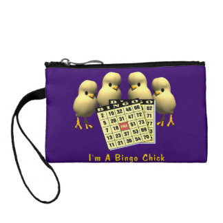 I'm A Bingo Chick Coin Wallet