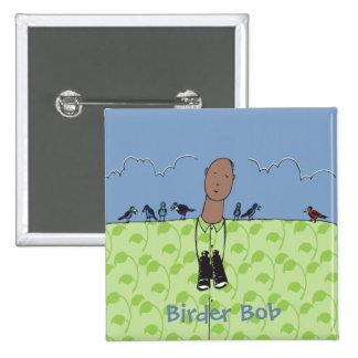 I'm a birder Square Button