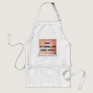 I'm a bona fide member of the Zipper Club Adult Apron