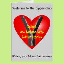 I'm a bona fide member of the Zipper Club Card