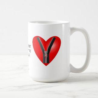 I'm a bona fide member of the Zipper Club Coffee Mug