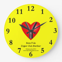 I'm a bona fide member of the Zipper Club Large Clock