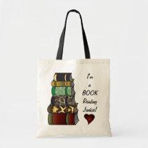 I'm a Book Reading Junkie Bag