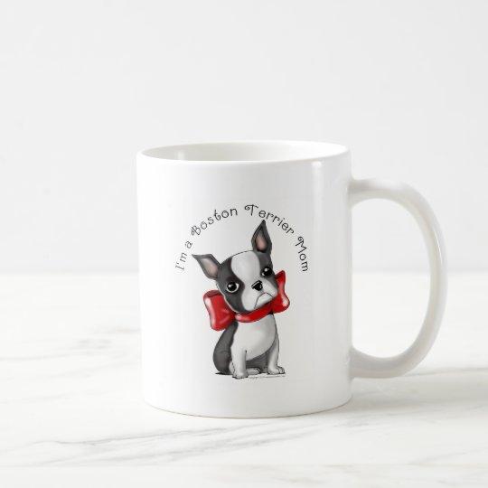 *I'm a Boston Terrier Mom* Adorable Dog Coffee Mug