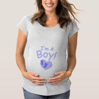 I'm A Boy Maternity T-Shirt