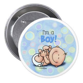 I'm a BOY - new baby Pin