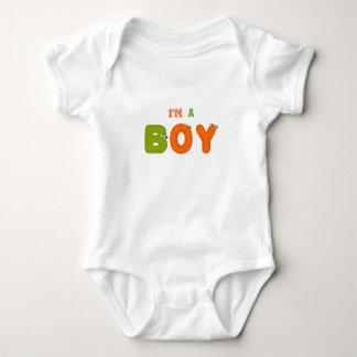 """""""I'm a Boy"""" Snap-Crotch Bodysuit"""" CUTE Baby Bodysuit"""
