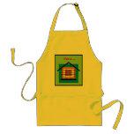 I'm a brick house adult apron