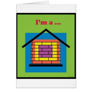 I'm a brick house card