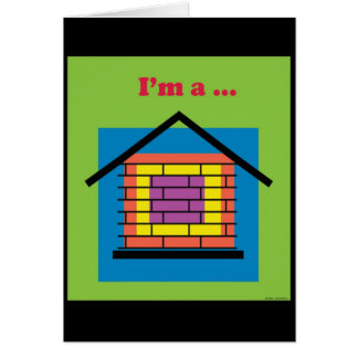 I'm a brick house - Customized Card