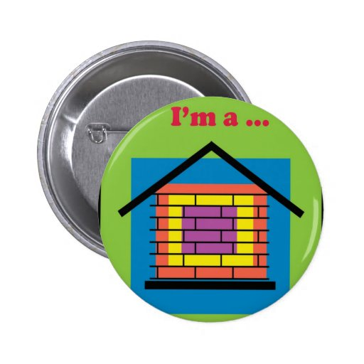 I'm a brick house pin