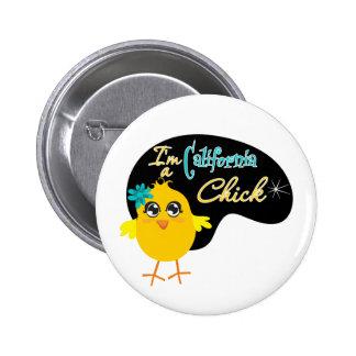 I'm a California Chick Pin