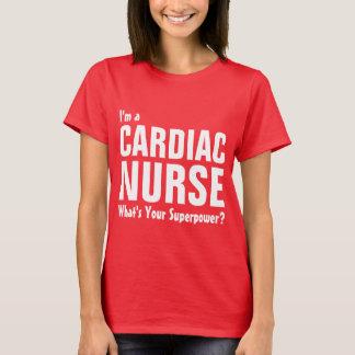 I'm a cardiac Nurse what's your Superpower T-Shirt