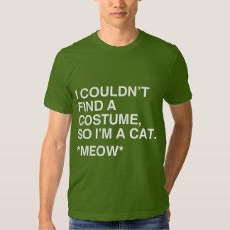 I'M A CAT COSTUME TEE SHIRT