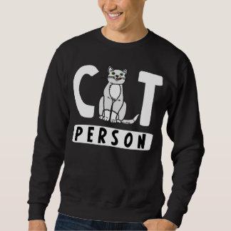 I'm a Cat Person Sweatshirt