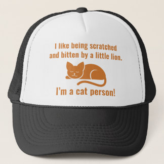 I'm A Cat Person Trucker Hat