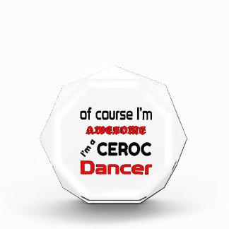 I'm a Ceroc Dancer Acrylic Award