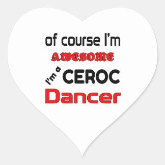 I'm a Ceroc Dancer Heart Sticker