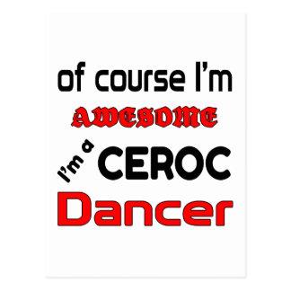I'm a Ceroc Dancer Postcard