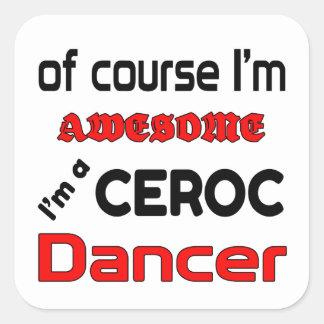 I'm a Ceroc Dancer Square Sticker