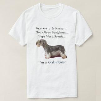I'm a Cesky Terrier T-Shirt