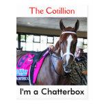 I'm a Chatterbox Postcard