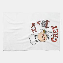 I'm a chef! kitchen towel