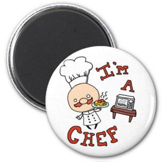 I'm a chef! magnet