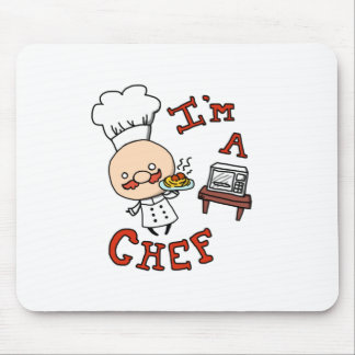 I'm a chef! mouse pad