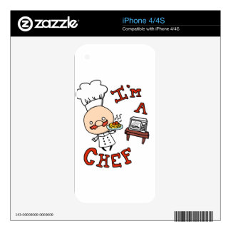 I'm a chef! skins for iPhone 4