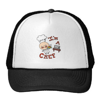 I'm a chef! trucker hat