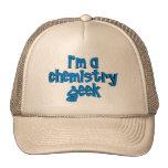 I'M A CHEMISTRY GEEK TEXT TRUCKER HAT
